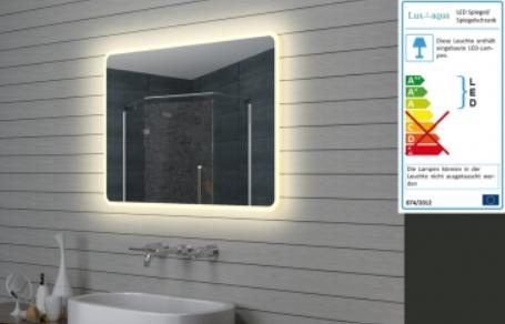 Zrcadlo MAGDA s LED osvětlením